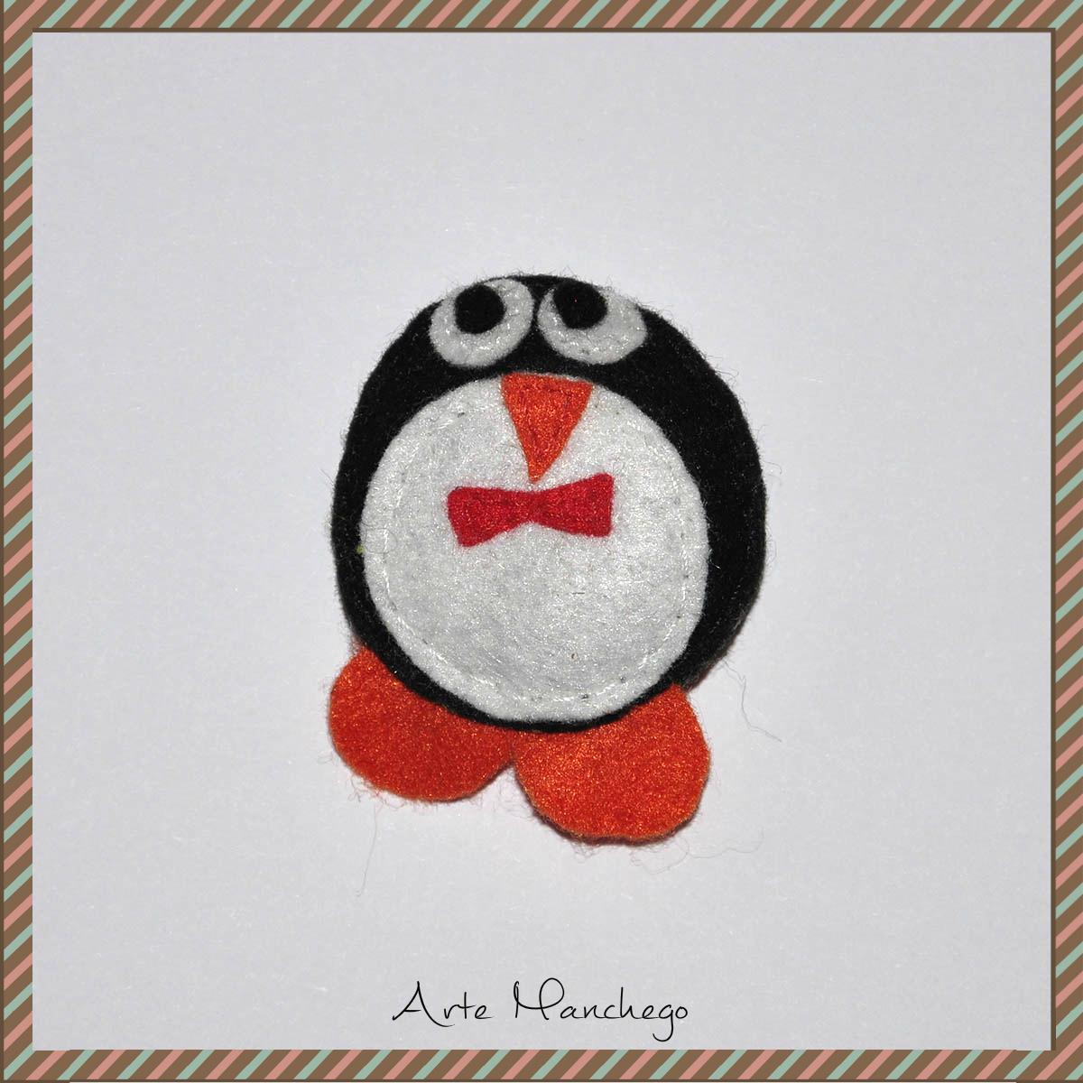Broche de pingüino