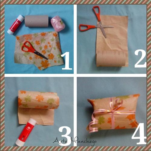 Cómo hacer una cajita para regalos pequeños