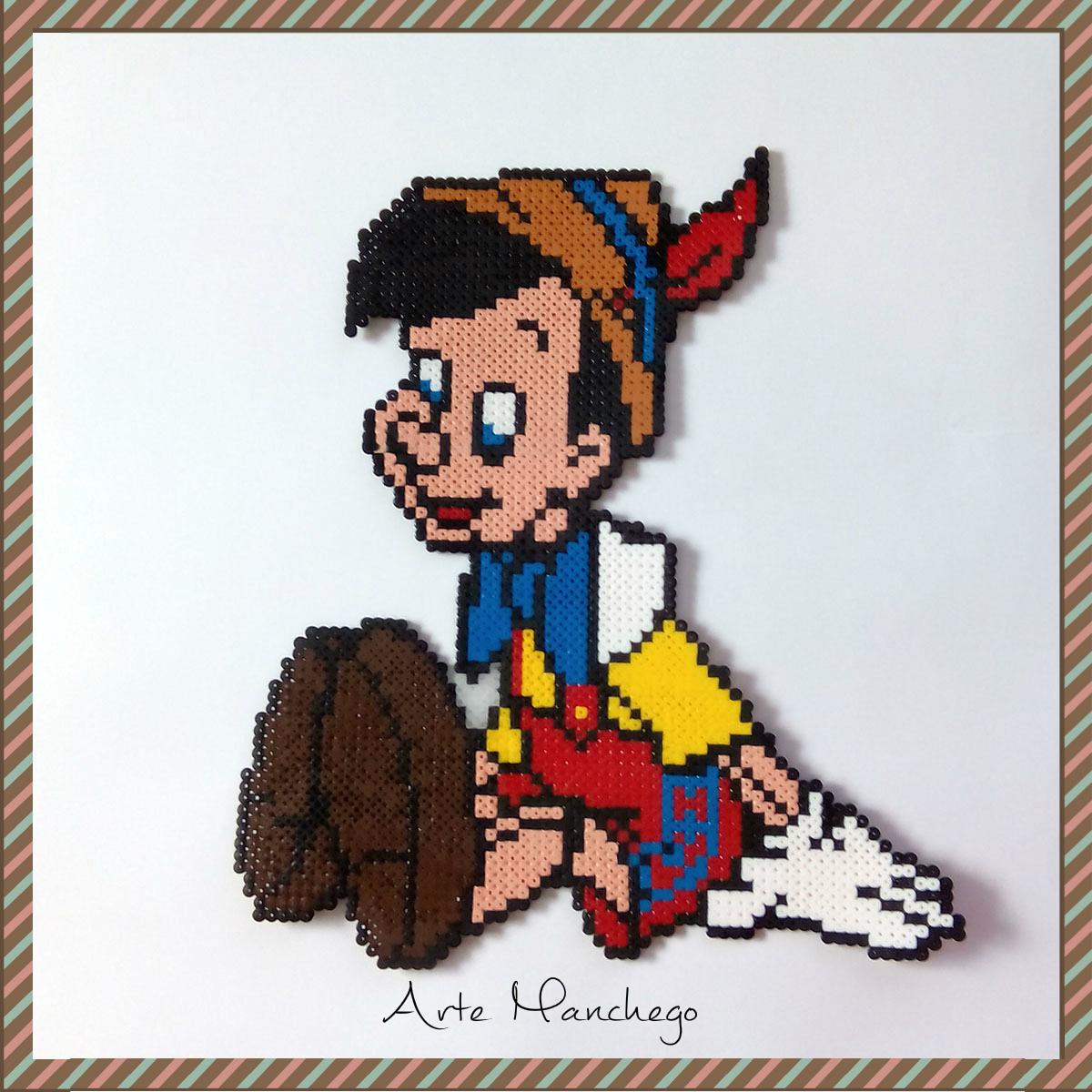 Pinocho de Hama Beads