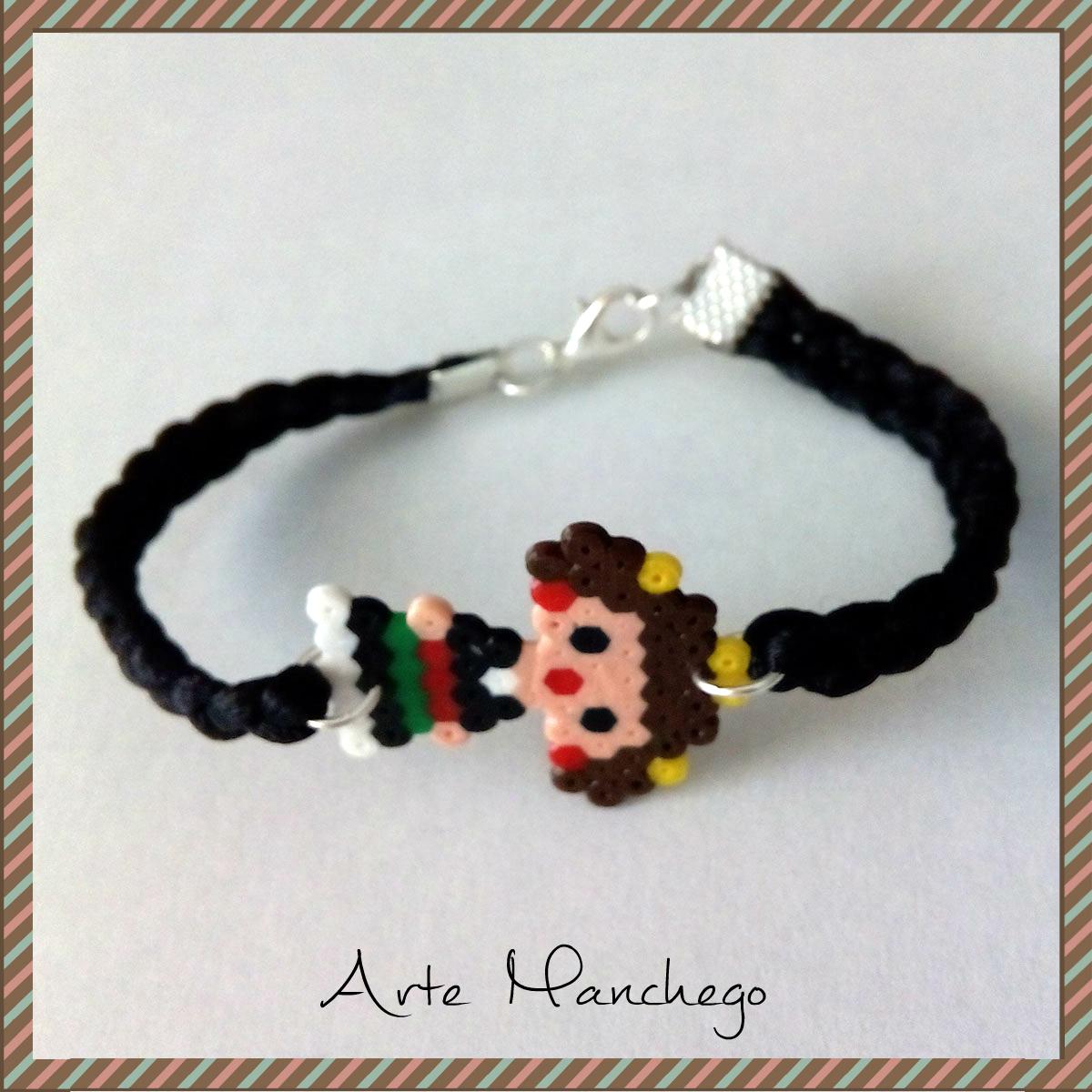Pulsera manchega de Hama Beads