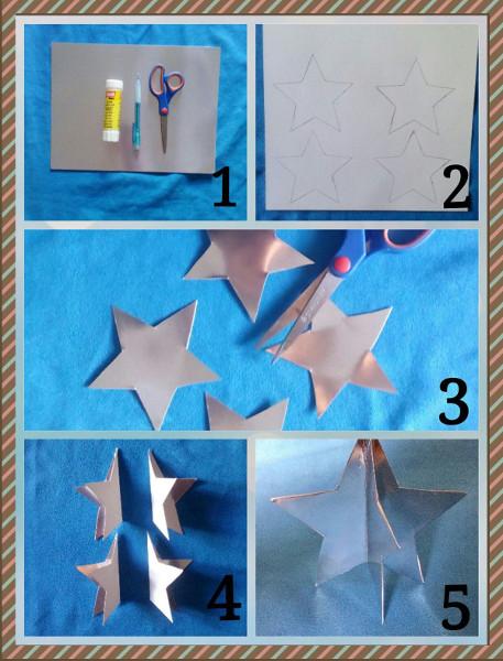 Cómo hacer una estrella en 3 dimensiones