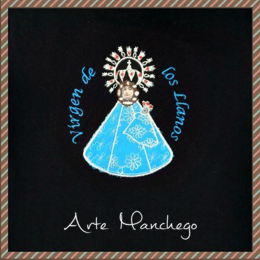 Camiseta Virgen de los Llanos - Detalle